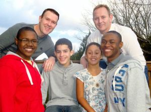 Tevin, Paul, DeSean, Mackenzie, Randy, and Tyler